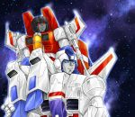 Skyfire and Starscream by mucun