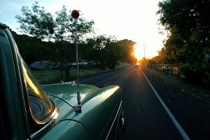 Riding into the sunet by Doogle510
