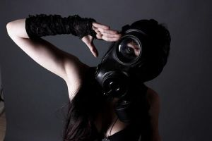 Gas Mask Series -2 by Trappedbehindthelens
