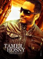 Tamer Hosny l New Poster 2013 by mounir-designs
