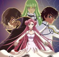 Fanr art Code geass by Rounaa