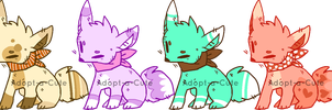 More Fox Adopts [CLOSED] by Adopt-a-Cute