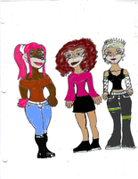 OCs Future Girls-Color by Aubergine-Jeri