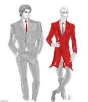 tew suits by GinkgoLouve