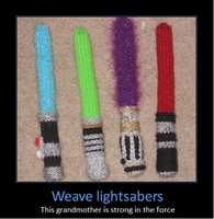 Weave Lightsabers by Sekrain