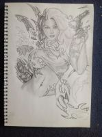 Witchblade - work in progress by MeetTheMonster