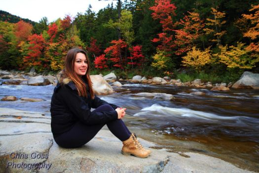 By the Swift River by Celem