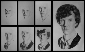 Sherlock Progression by MidnightRoseGarden