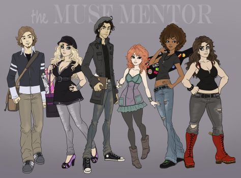 The Muse Mentor - Cast-call by Sephiramy