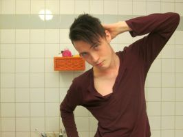 A hottie in the bathroom:). by Gurra921