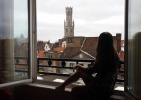View from Hotel in Bruges by IDiivil-Official