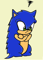 The Sonic Pout by mariahmerry