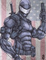 Snake Eyes G.I.Joe by ChrisOzFulton
