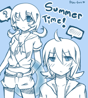 Summer time~ by Asa-tan