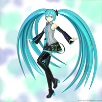 Hatsune Miku dance pose test by aVersionOfReality