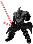 angry space dwarf of the sith by unoservix