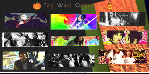 Tag Wall Octubre by Ovell-Rz