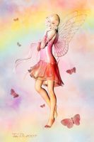 Butterflies and Rainbows by ToriB