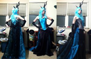 Queen Chrysalis preview by RougeLeaderRed