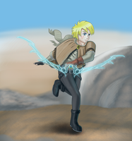 Wasteland Ezreal by existence111