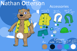 Nathan Otterson - 2017 reference sheet by MrOtterson