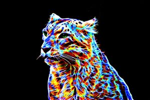 Colorful leopard XII by megaossa