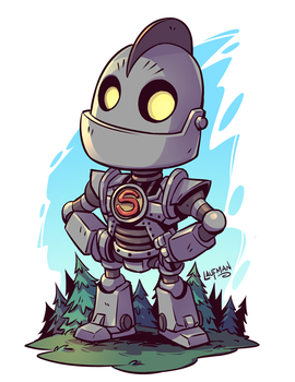 Chibi Iron Giant by DerekLaufman