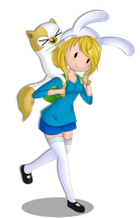 adventure time /c Cake and fionna by Asamy753