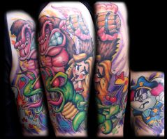80's Arcade Game Sleeve by RietOne