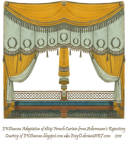 Extended Original 1809 Curtain by EveyD