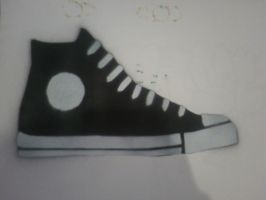 Converse shoe by neilnorg