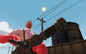 Team Fortress 2 Backgrounds - Medic by AmberReaper