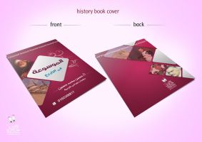 history book cover by elhosary