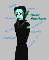 For Good Character Profile: Ricki Sunflare by aleineskyfire