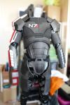 WIP MASS EFFECT Shepard Costume by Rovanite