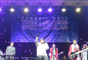 Boston's Faneuil Hall Concert/Tree Lighting 5 by Miss-Tbones