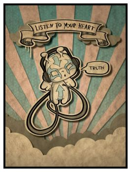 Listen to your Heart... by HungryCreative