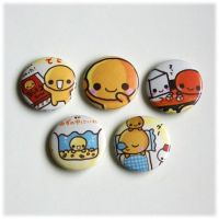Natto Chan Badges by Keito-San