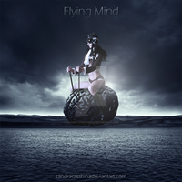 Flying Mind by Sandra-Cristhina