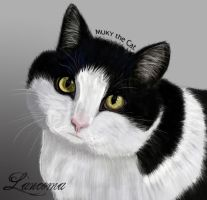 MUKY the Cat by AloneInUniverseArt