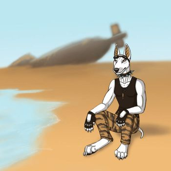 ''Dead Sea''  color challenge1 by BullTerrierKa