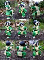 Toph Figure by Porcubird