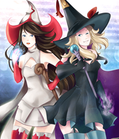 Bravely Halloween by Akuo-P