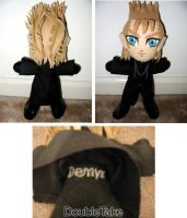 Demyx Plushie by WhittyKitty