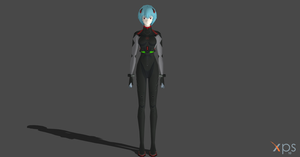 Rei Ayanami - Evangelion 3.0 You can (not) Redo by Saskeni
