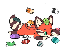 I Am The Official Hoarder Of Guinea Pigs by Bowtiefoxin