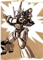 Patlabor sketch by MarcLaming