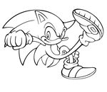 S.A style for fun lineart by megax88