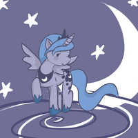 Princess Luna by purpletanookisuit