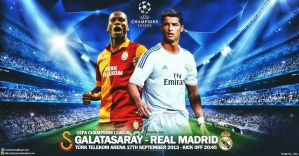 Galatasaray - Real Madrid Champions League by jafarjeef